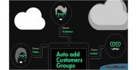 Add auto customers groups