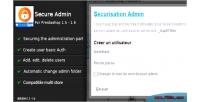 Admin secure for prestashop
