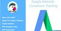 Adwords google conversion tracking