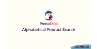 Alphabetical prestashop product search