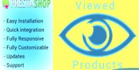 Animate scroll viewed prestashop for products