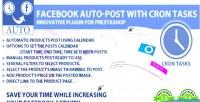 Auto post with cron prestashop for tasks auto