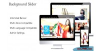 Background fullscreen prestashop slider