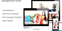Background fullscreen prestashop slider