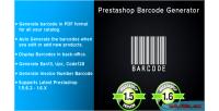 Barcode prestashop generator