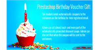 Birthday prestashop voucher gift