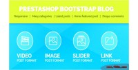 Bootstrap prestashop blog