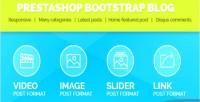 Bootstrap prestashop blog