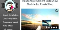 Camera responsive slider prestashop images for module