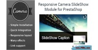 Camera responsive slideshow prestashop for module
