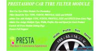 Car prestashop module filter tyre