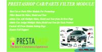 Car prestashop plugin filter parts