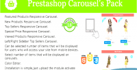 Carousel prestashop module pack s