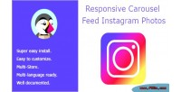 Carousel responsive photos instagram feed