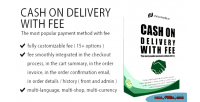 Cash on delivery with prestashop for fee