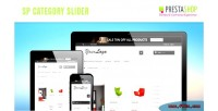 Category sp slider module prestashop responsive