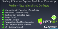Ccavenue flexeasy payment prestashop for module