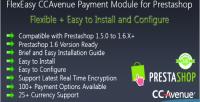 Ccavenue flexeasy payment prestashop for module