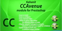 Ccavenue kahanit prestashop for module