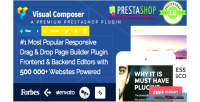 Composer visual page prestashop for builder
