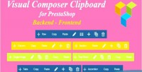 Composer visual prestashop for clipboard