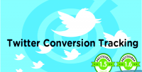 Conversion twitter tracking