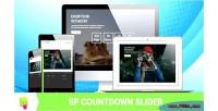 Countdown sp slider module prestashop responsive