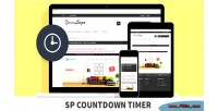 Countdown sp timer module prestashop responsive