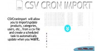 Cron csv prestashop dropshipping import