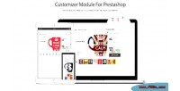 Custom customizer module prestashop product