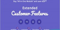Customer extended features