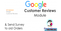 Customer google prestashop module reviews