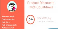 Discounts product with countdown