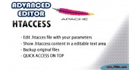 Editor advanced htaccess