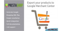 Export your products to center merchant google