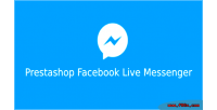 Facebook prestashop live messenger