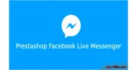 Facebook prestashop live messenger