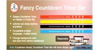 Fancy prestashop countdown module bar timer