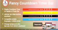 Fancy prestashop countdown module bar timer