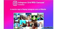 Feed instagram grid prestashop with for carousel