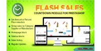 Flash prestashop sales specials countdown module