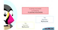 Floating prestashop vouchers