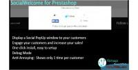 For socialwelcome prestashop