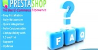 Frequently faq asked prestashop for questions