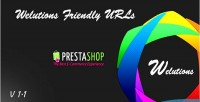 Friendly welutions prestashop for urls