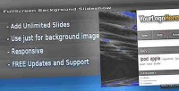 Fullscreen prestashop background slideshow