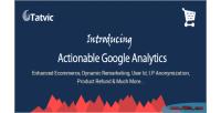 Google actionable prestashop for analytics