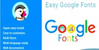 Google easy fonts