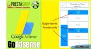 Google goadsense module prestashop adsense