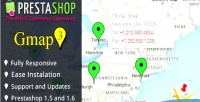 Google map api v.3 prestashop for module